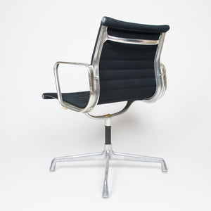 SOLD Herman Miller Black Fabric Low Back Executive Aluminum Group Desk Chair