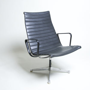 SOLD Patent Pending Eames Aluminum Group Lounge Chair #2