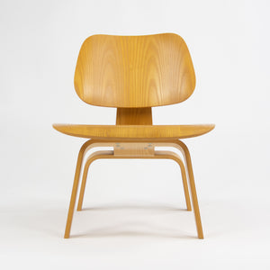 SOLD Herman Miller Eames LCW Lounge Chair Wood Calico Ash