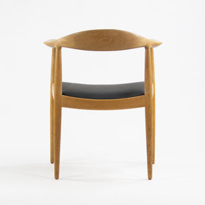 SOLD Hans Wegner Johannes Hansen Denmark The Chair Arm Chair Oak