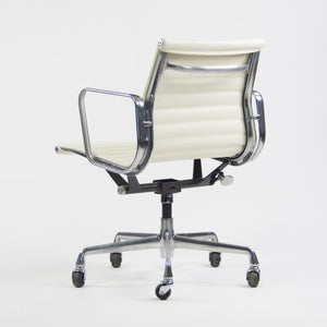 SOLD Herman Miller Eames New Old Stock Low Aluminum Group Management Desk Chair White
