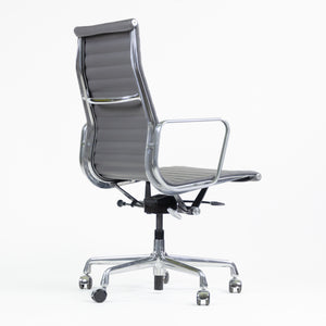 SOLD Eames Herman Miller Leather High Executive Aluminum Group Desk Chairs 2018 1x Available