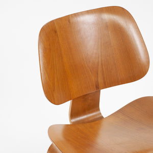 SOLD Eames Evans Herman Miller 1948 LCW Lounge Chairs Wood Walnut Rare Pair