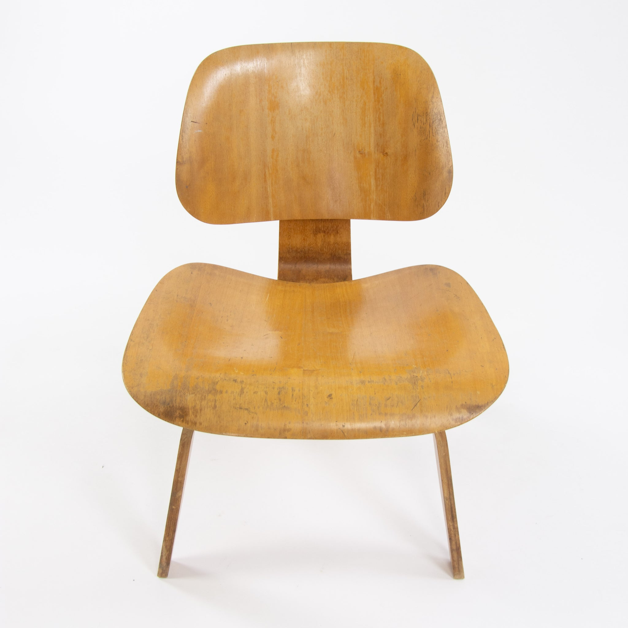 1946 Charles and Ray Eames Evans Herman Miller LCW Lounge Chair Wood Ash