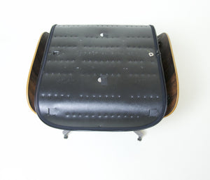 SOLD 1975 Herman Miller Eames 671 Ottoman for Eames Lounge 670 Brazilian Rosewood