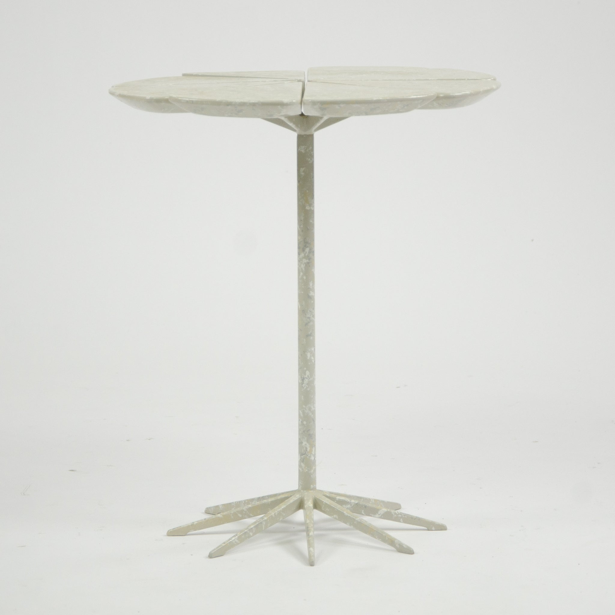 SOLD 1960's Knoll Richard Schultz Petal Table Rare Enameled Redwood