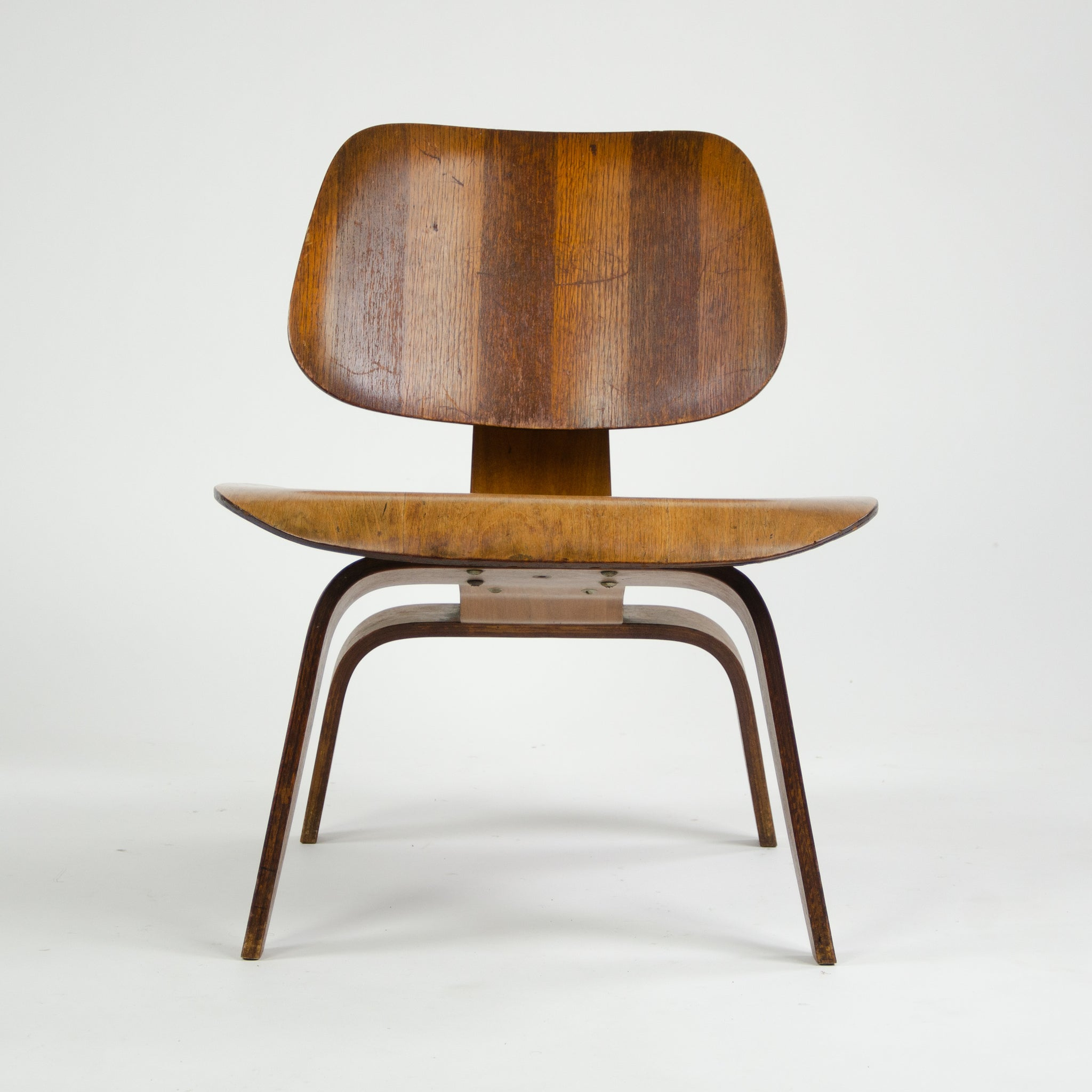 SOLD Eames Evans RARE Herman Miller 1947 LCW Lounge Chair Wood Walnut
