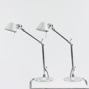 SOLD Artemide Tolomeo Micro Desk Table Lamp Michele De Lucchi & Giancarlo Fassina