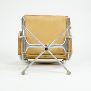 SOLD 1968 Eames Herman Miller Intermediate Aluminum Chair Leather Exceptionally Rare