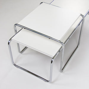 SOLD Marcel Breuer for Knoll Studio / International Laccio Side & Coffee Table Set