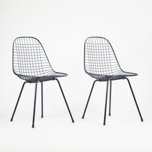 SOLD Set of 4 Herman Miller Eames 1950's Wire Outdoor Task Chair Newly Powder Coated