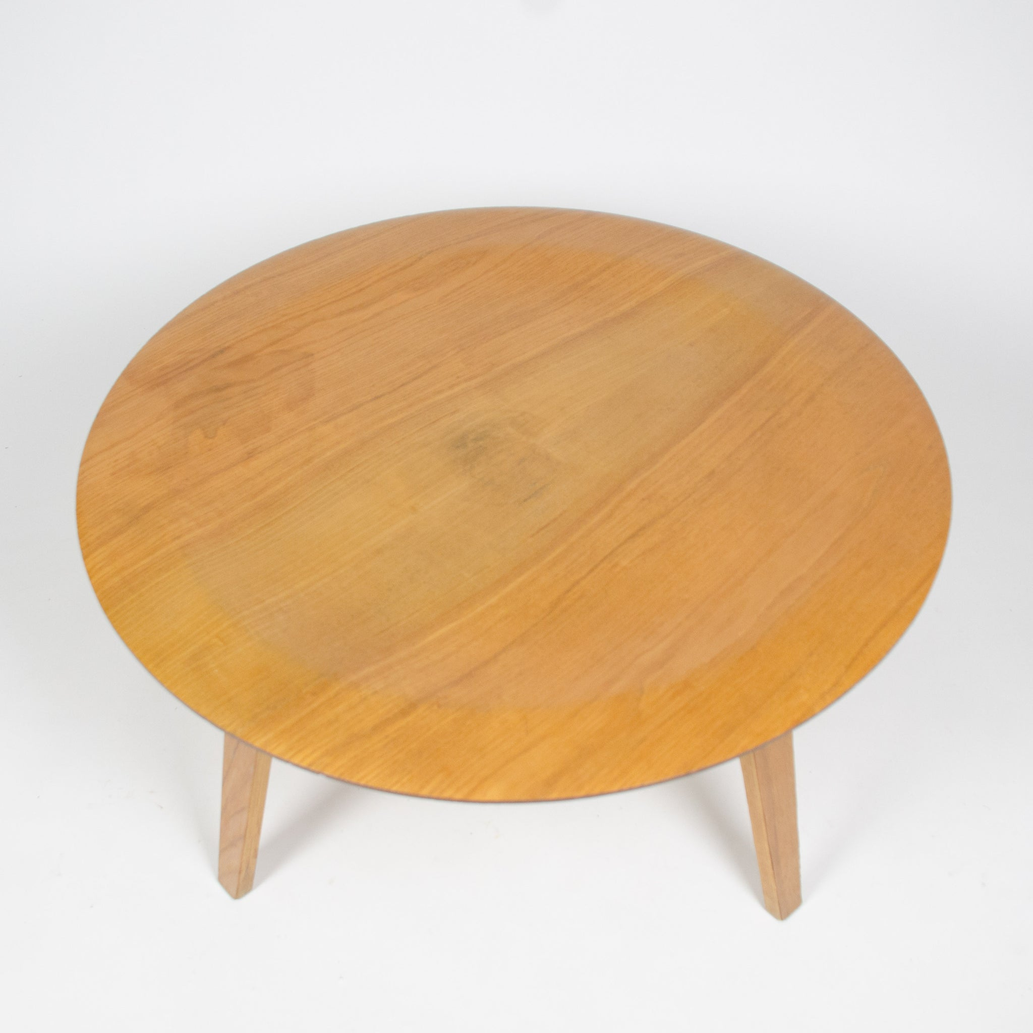 SOLD Early Eames Herman Miller 1950's CTW Coffee Table Mid Century Knoll