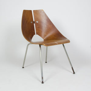 SOLD Original Ray Komai Molded Plywood Chair Eames Knoll, J.G. Furniture Co.