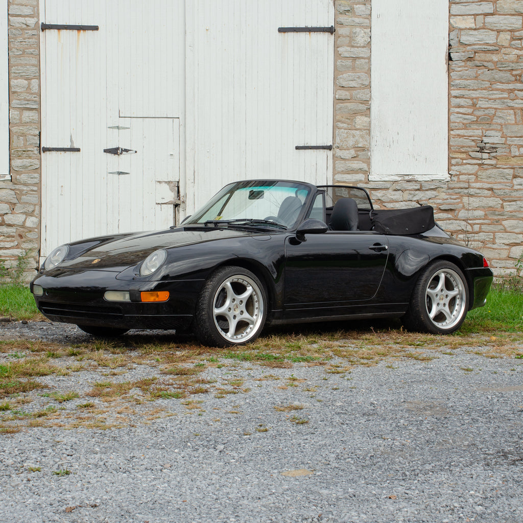 SOLD 1996 Porsche 911 Carrera Cabriolet 993 Generation