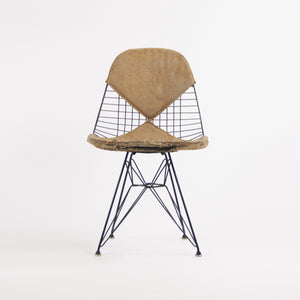 1952 Herman Miller Eames Wire Eiffel Tower Chair DKR-2 Original Venice Label