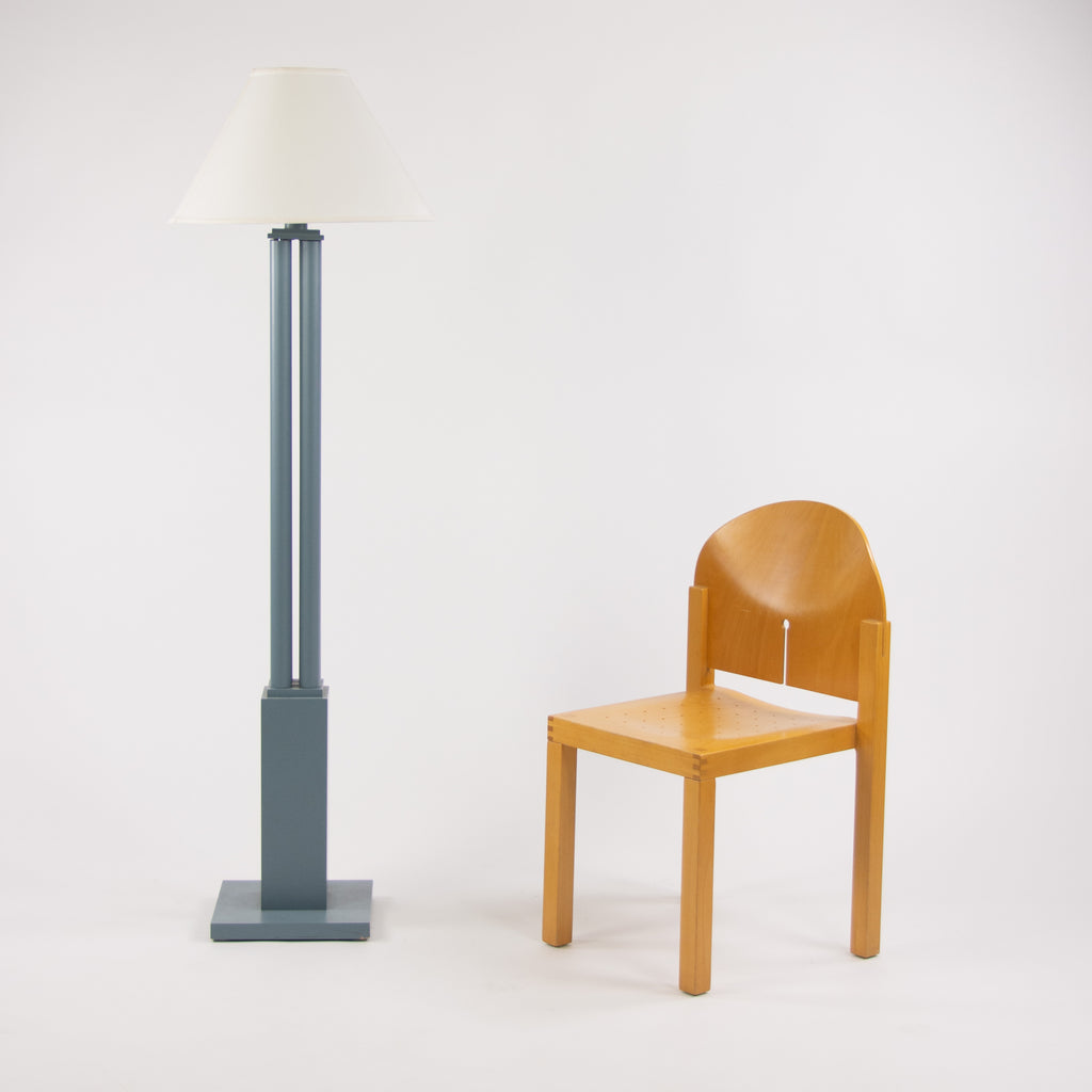 SOLD 1990 Vintage Michael Graves Design Post Modern Kyoto Floor Lamp for Arkitektura