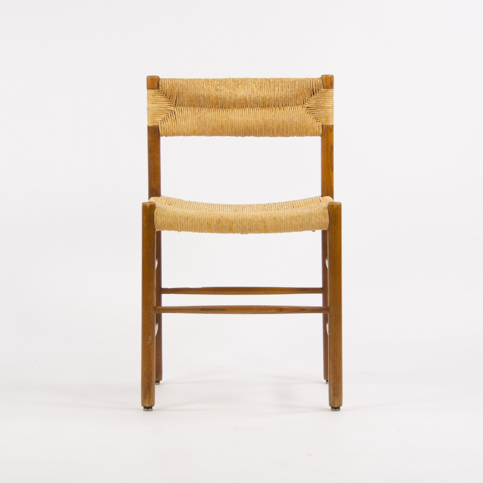 1950 Set of Four Vintage Charlotte Perriand Dordogne Chairs for Robert Sentou