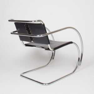 SOLD Knoll International Mies Van Der Rohe MR20 Lounge Armchairs
