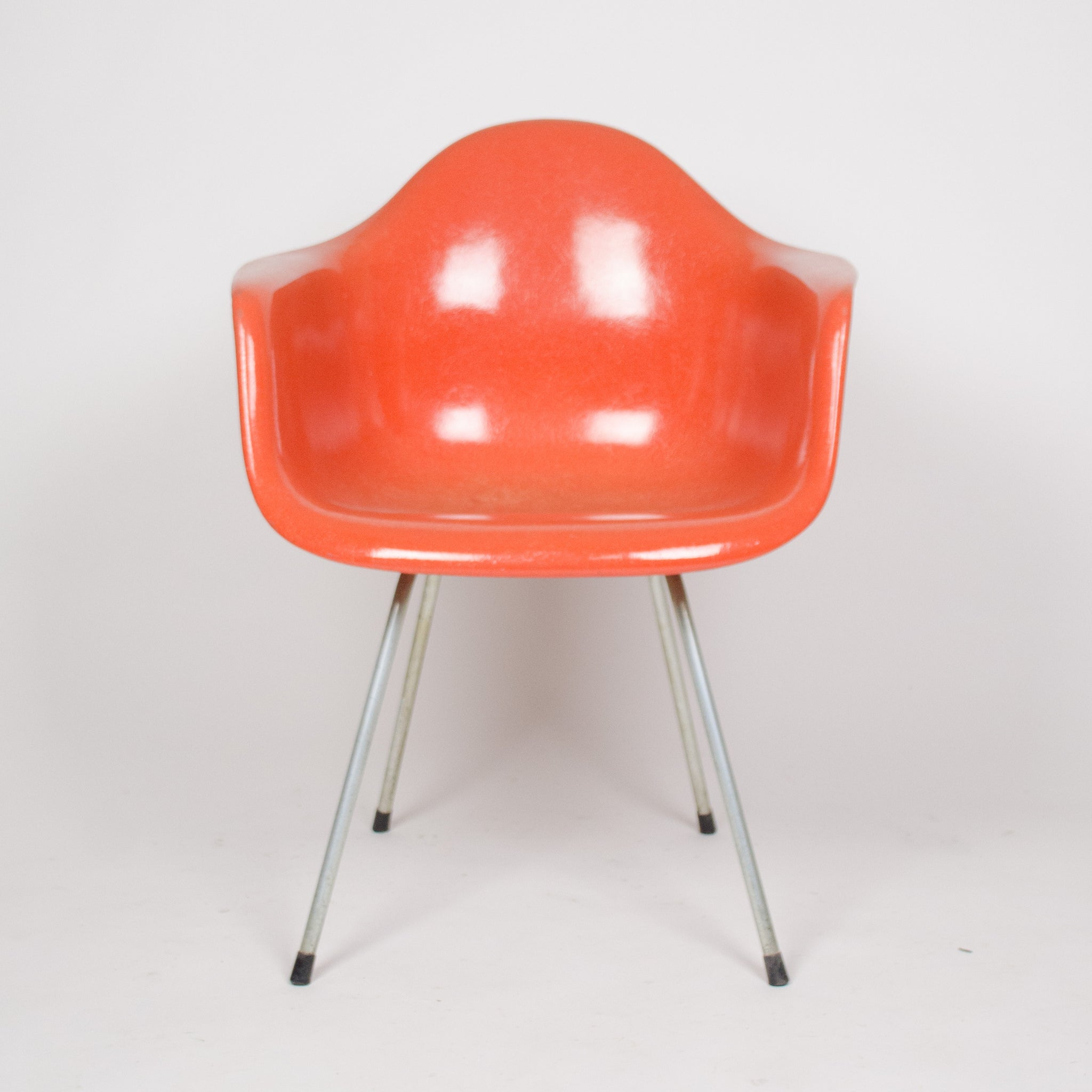 fiberglass shell chairs. 1960\u0027s eames herman miller red / orange fiberglass shell chairs arm shells s
