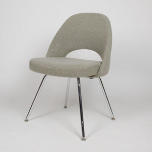 SOLD Knoll International Eero Saarinen Armless Executive Side Chair Metal Legs 2x