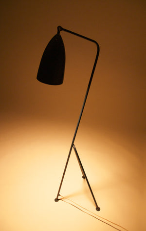 Greta Magnusson Grossman Grasshopper Floor Lamp Original Circa 1948