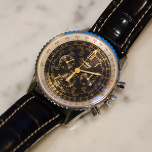 SOLD Breitling Old Navitimer Mecanique Serie Limitee Display Back Edition of 400