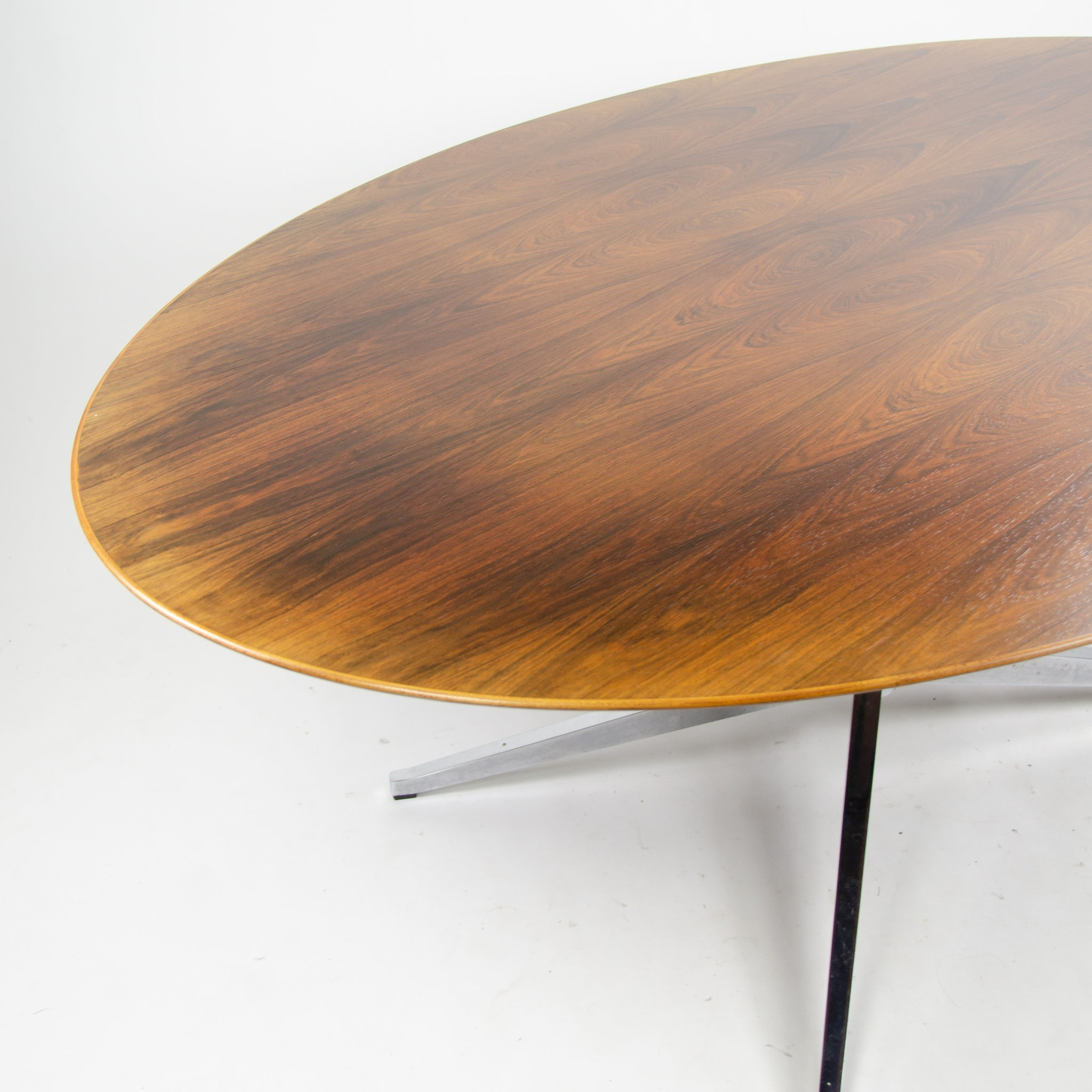 SOLD 1970's Florence Knoll 78 in Rosewood Dining Conference Table