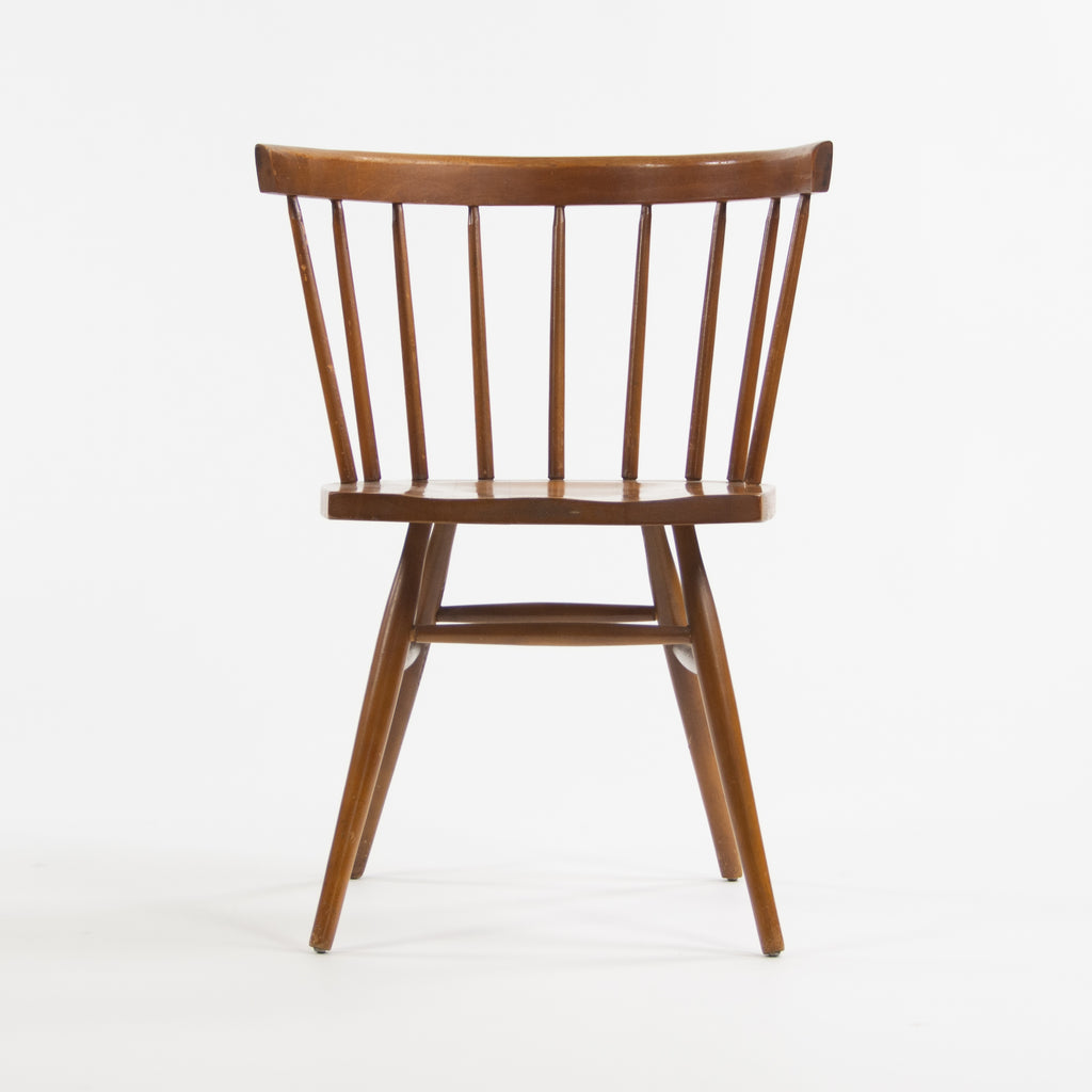 1940's Early Vintage Knoll Associates George Nakashima Straight Chair Cherry