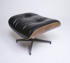 SOLD 1970's Herman Miller Eames Lounge Chair & Ottoman Rosewood 670 671