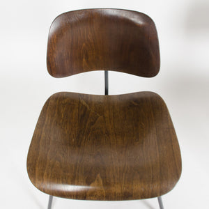 SOLD Eames Evans Herman Miller 1947 Walnut DCM Dining Chair Labelled! Mint!