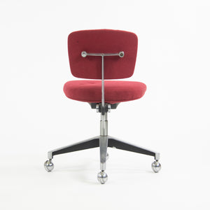 Knoll Associates 1961 Max Pearson Secretarial Chair Red Model 46
