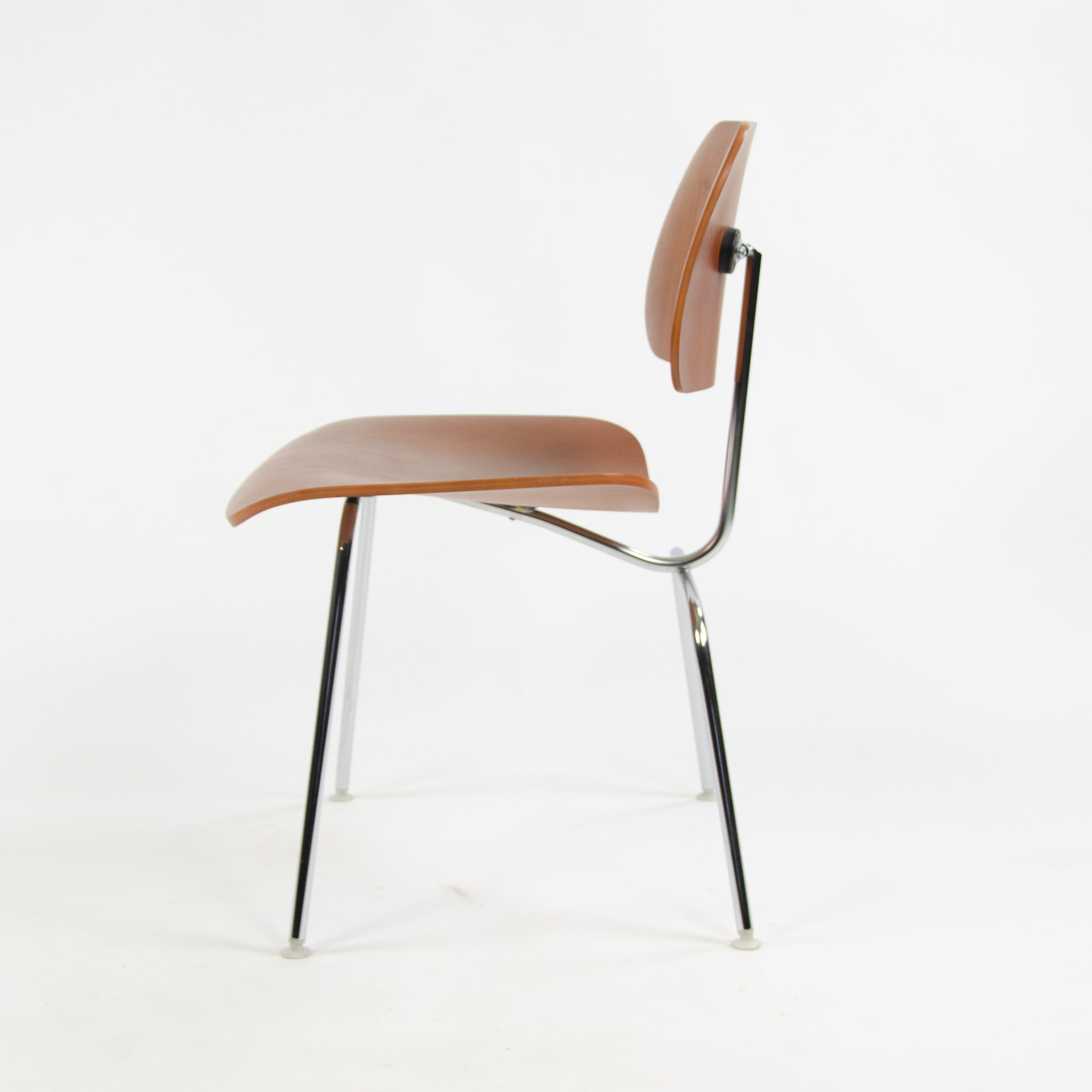 SOLD Late 2000's Eames Herman Miller DCM Chair Cherry