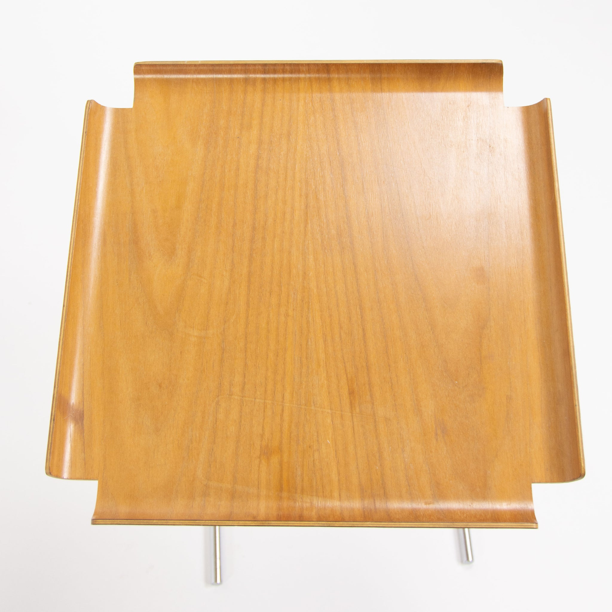 1950s George Nelson & Associates Early Herman Miller 4950 Tray Side Tables