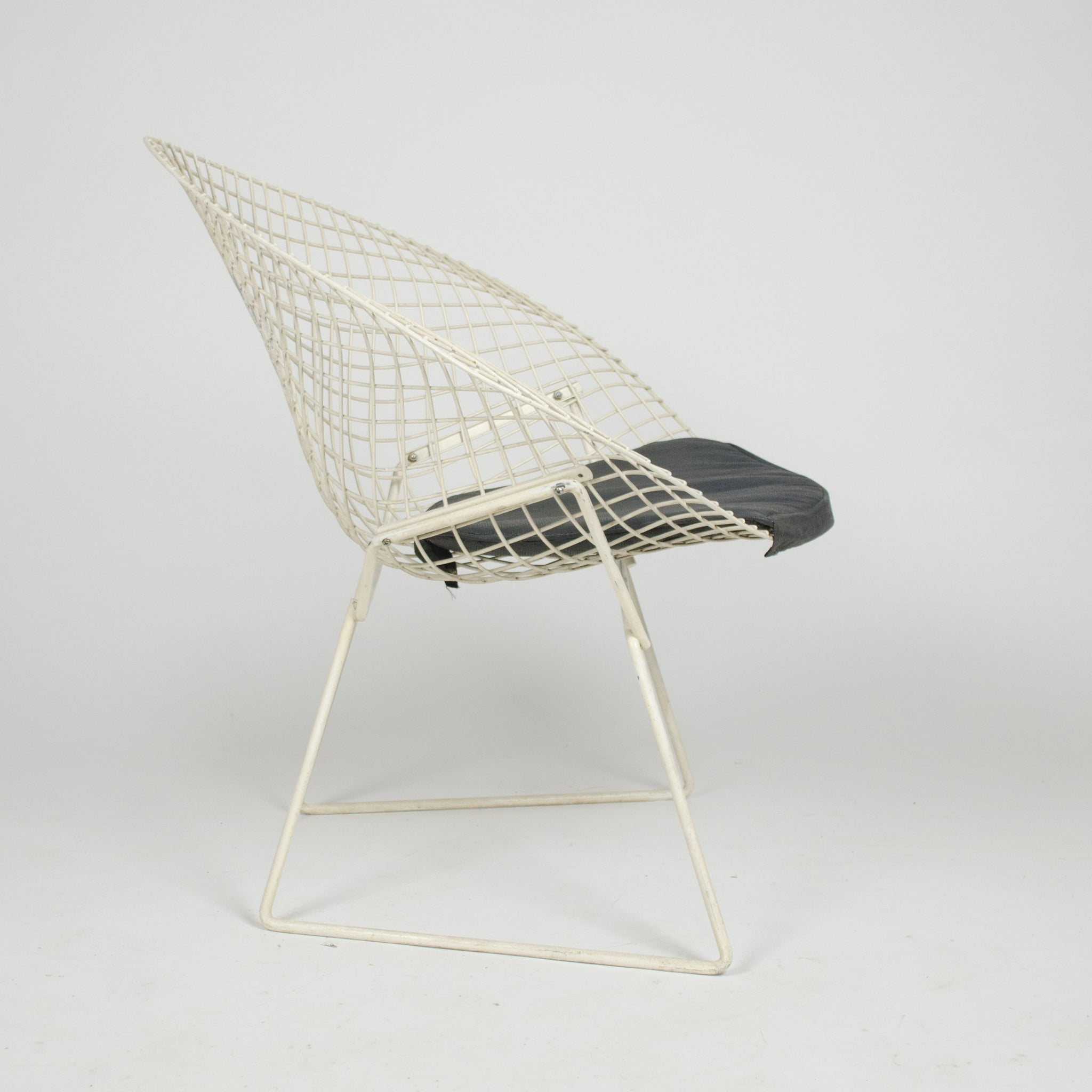 SOLD Harry Bertoia Diamond Lounge Chair for Knoll International 4x