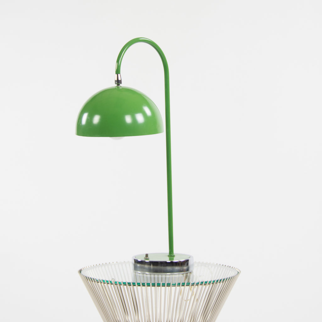 Flowerpot Desk and Table Lamp by Verner Panton, 1960's Vintage