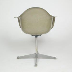 SOLD Eames Herman Miller Gray / Green Fiberglass Shell Chair