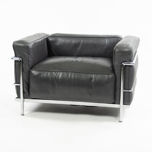 SOLD Cassina Italy Le Corbusier LC3 Grand Modele Armchair Leather Multiples Available