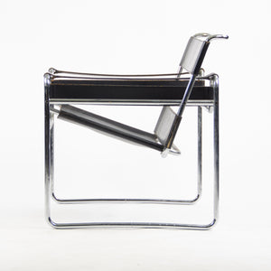 SOLD Early Gavina Knoll Stendig Marcel Breuer Wassily Chair B3 Black Leather