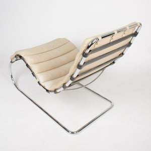 SOLD Chaise by Mies Van Der Rohe For Knoll International MR Lounge Chair