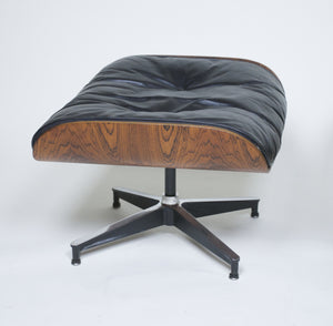 SOLD Early 1960's Herman Miller Eames Lounge Chair & Ottoman Rosewood 670 671