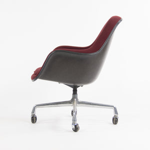 1985 Eames Herman Miller EC175 Upholstered Fiberglass Shell Chair Museum Quality