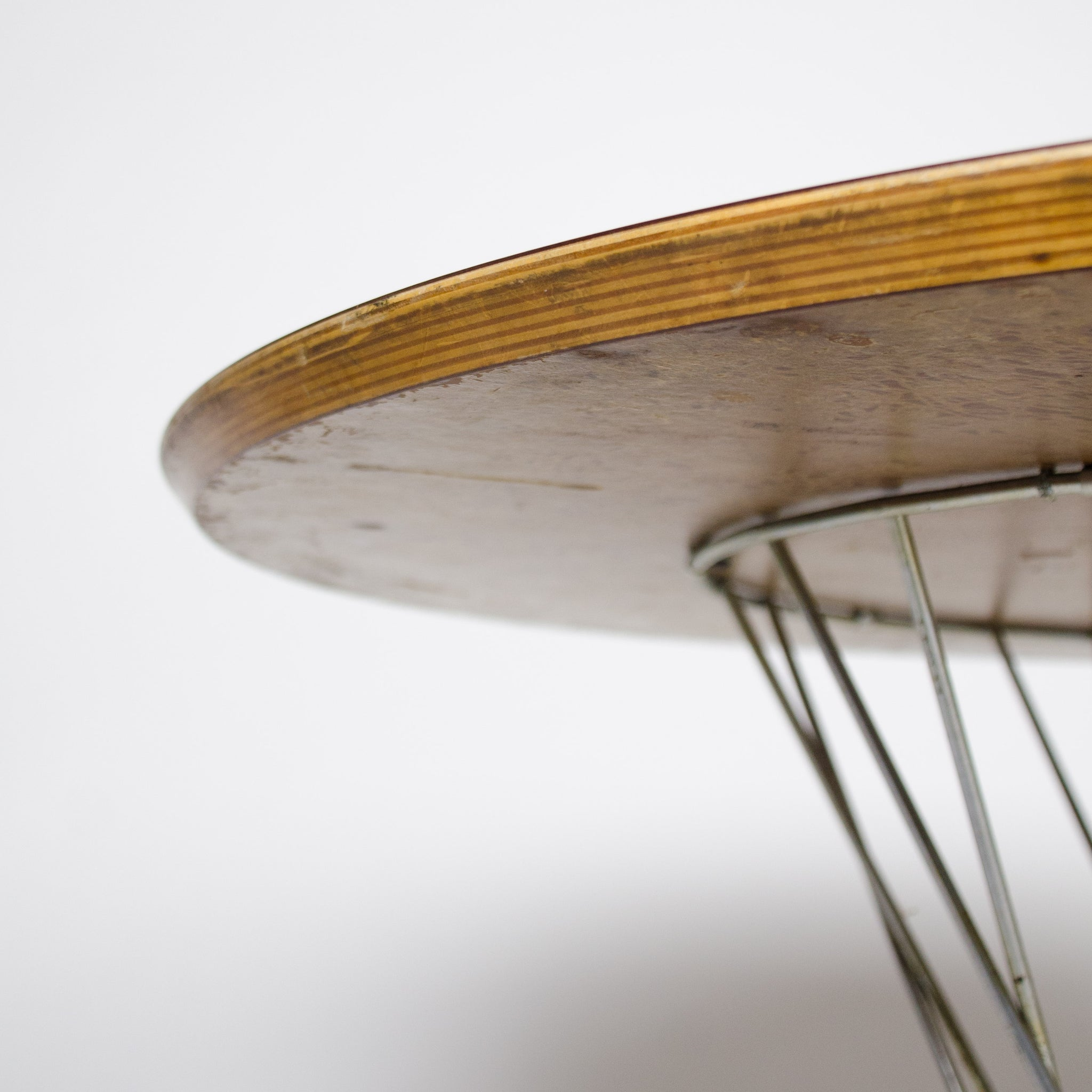 SOLD 1950's Rare Isamu Noguchi For Knoll Associates Original Cyclone Wire Dining Table