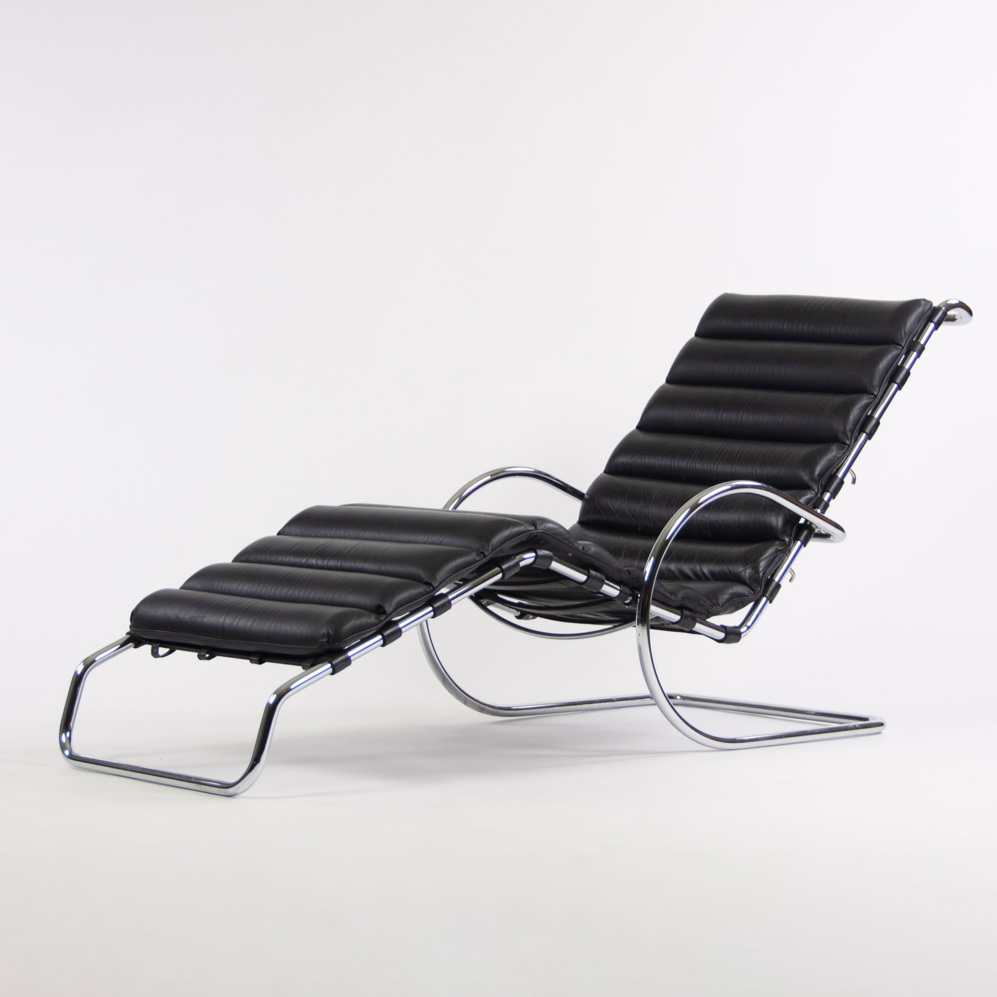 SOLD Knoll International Mies Van Der Rohe MR Chaise Adjustable Lounge Chair Vintage