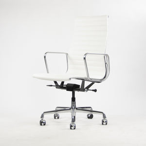 SOLD Eames Herman Miller Brand New Leather High Pneumatic Aluminum Group Desk Chairs 6x