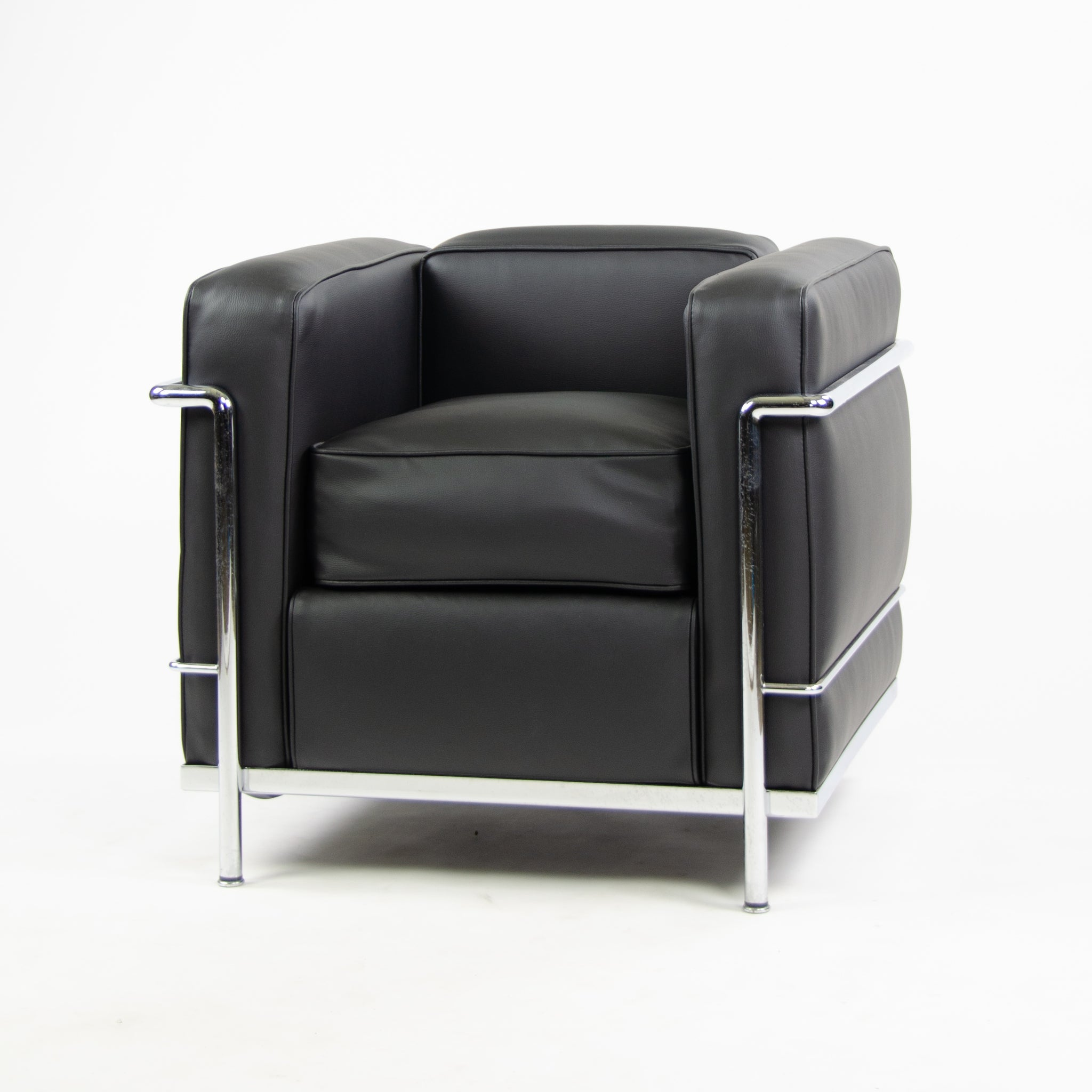 Cassina Italy Le Corbusier LC2 Petit Modele Armchair New Upholstery