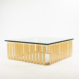 1998 Frank Gehry For Knoll International Icing Coffee Table Original Marked