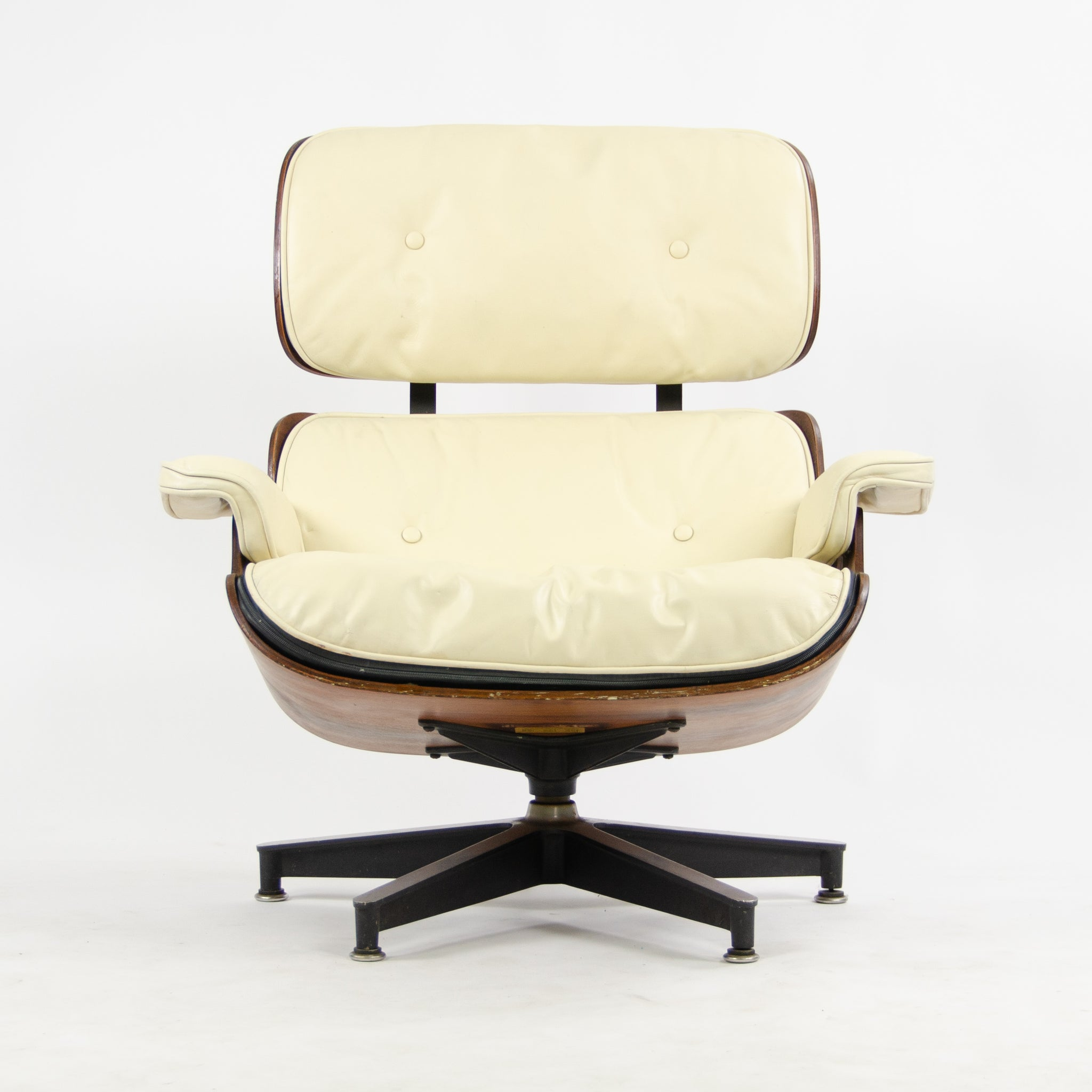 Awesome Sold 1956 Herman Miller Eames Lounge Chair Ottoman 670 671 Caraccident5 Cool Chair Designs And Ideas Caraccident5Info