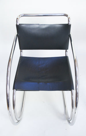 SOLD Knoll International Mies Van Der Rohe MR20 Armchairs - Bauhaus Era