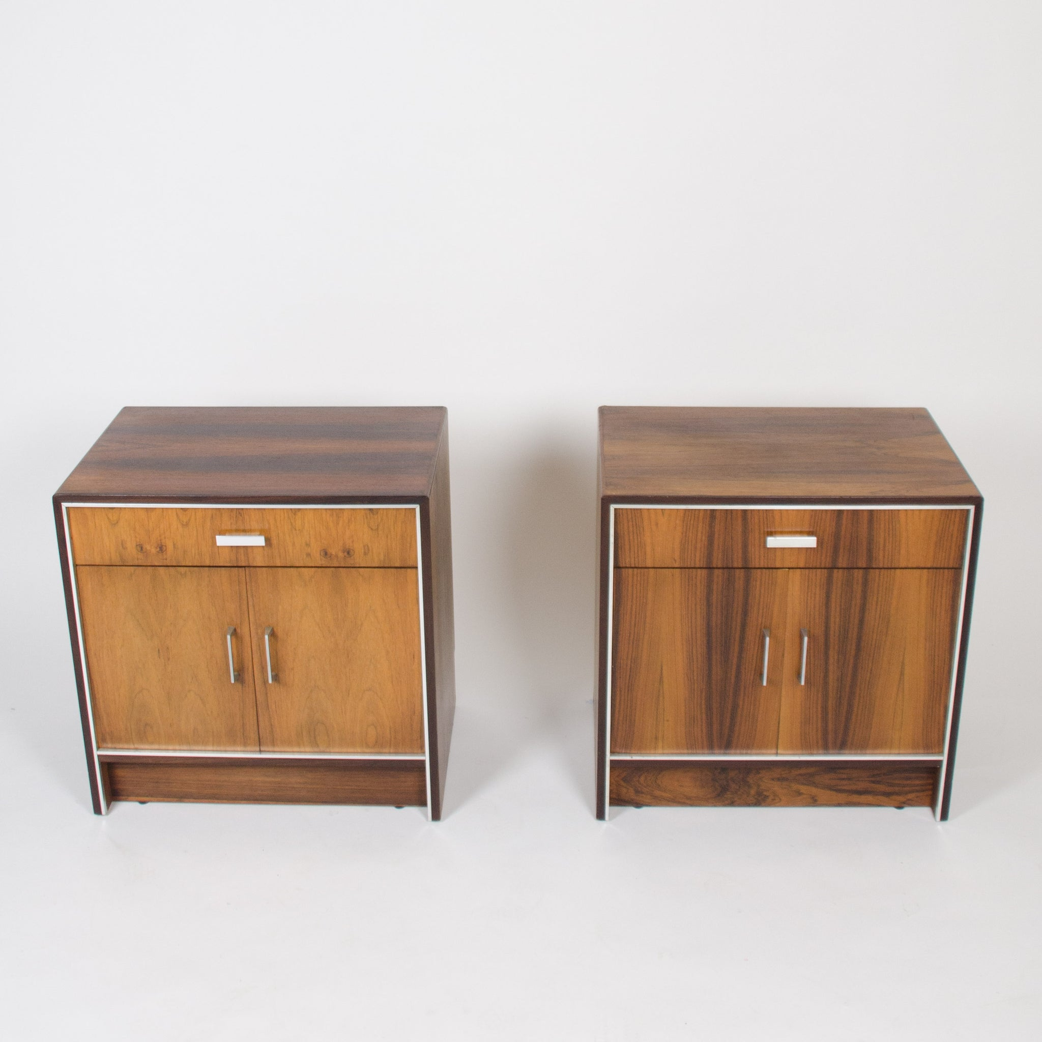 Charmant Falster Maurice Villency Rosewood Danish Dresser End Tables Bedside Cabinet  Pair