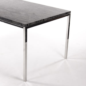 Gray Marble 2011 Cumberland Meeting Dining Table Desk w/ Stainless Base Knoll